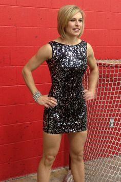 Fashion shoot with Tessa Bonhomme for Style magazine cover at Carleton University rink. Tessa Bonhomme, Canadian Girls, Fashion Shoot, Carleton University, Formal Dresses, Ottawa, Athletes, Crossfit, Workouts
