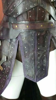 Wonder Woman movie costume armor detail General Antiope