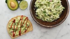 Your Lunch Will Be So Much Better With This Avocado Chicken Salad Toast
