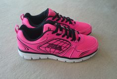 My first pink sneakers. Girly!