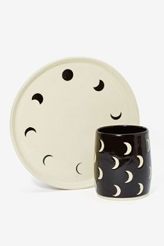 Small Spells Moon Phase Handmade Plate | Shop Festive Fiend at Nasty Gal