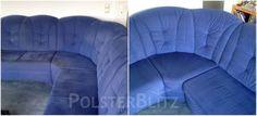 polsterreinigung schnell zuverl ssig polsterblitz vorher nachher bilder pinterest. Black Bedroom Furniture Sets. Home Design Ideas