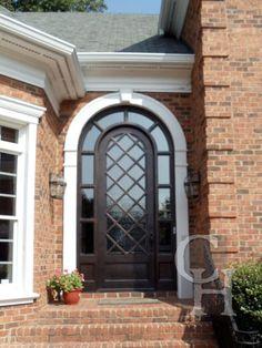 Iron Single Door Clark Hall Iron Doors Charlotte, NC