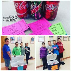We celebrated National Random Acts of Kindness Day by delivering ice cold drinks to all the staff today! I sent crews out to each grade level with notes that read \