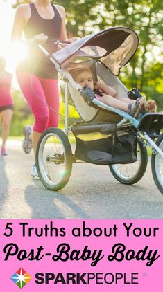 What Nobody Tells You about Getting Back into Shape after Baby | via @SparkPeople #sparkmoms #moms #health #life #healthy #exercise #fitmama