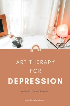 Art Therapy for Depression - Activity for all levels, beginner friendly. This exercise will help activate more energy yet ground you at the same time, as well as understand more about what's… Art Therapy Projects, Art Therapy Activities, Therapy Tools, Music Therapy, Play Therapy, Counselling Activities, Physical Activities, Speech Therapy, Depression Art