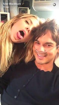 Tyler and Ashley on Snapchat