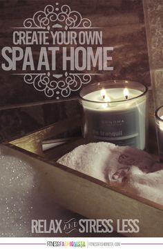 Create Your Own Spa at Home it is time to #MakeYourMove and relax and stress less with these creative ideas to create a spa in your own home because we can all use a spa day! @kohls @fitflu #ad