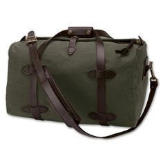 The Duffle Bag-Small in Brown