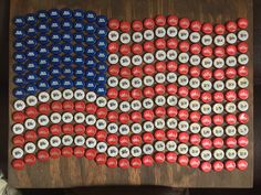 Diy Bottle Cap Crafts 772648879808150264 - American flag bottle cap art American flag bottle cap art Source by Diy Bottle Cap Crafts, Beer Cap Crafts, Bottle Cap Projects, Bottle Top Art, Bottle Cap Table, Beer Cap Table, Deer Wood, Custom Bottle Caps, Garrafa Diy