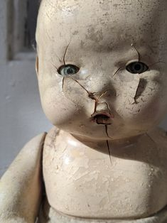 Jessica Anderson, Creepy Dolls, Best Birthday Gifts, Etsy Shop, Antiques, Artwork, Composition, Vintage, Check