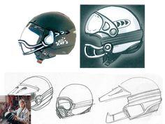 Casque moto : le jet Roof Rat's conçu et dessiné par (...) - Moto Magazine - leader de l'actualité de la moto et du motard