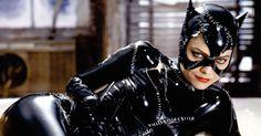 "Michelle Pfeiffer viveu a Mulher-Gato em ""Batman Returns"" (1992), de Tim Burton"
