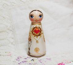 Nuestra Señora de Fatima Católica Saint muñeca por SaintAnneStudio