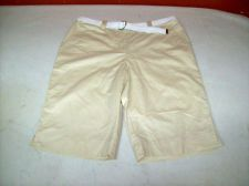 Karen Scott belted Bermuda shorts Women's Cropped at Knee Pants sz 12 $24.95 Free Shipping. Accessorizing is very important for Your Personal Style! Island Heat Products www.islandheat.com today's clothing Fashions and Home Goods with Great Family Gift Idea's.