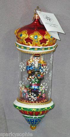 Excellent Christopher Radko Crystal Nutcracker Ornament Hard to Find Nutcracker Ornaments, Nutcracker Sweet, Old World Christmas Ornaments, Nutcracker Christmas, Christmas Tree Decorations, Vintage Christmas, Xmas Trees, Vintage Ornaments, Glass Ornaments