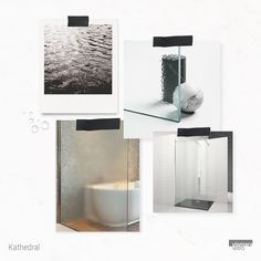 New trends for textured glass for shower enclosure: Kathedral is like a gentle rain on the window, the soft and rippled pattern affect transparencies. Mystery and light intertwine. Shower Enclosure, Glass Texture, Bathroom Colors, New Trends, Mystery, Rain, Window, Colours, Pattern