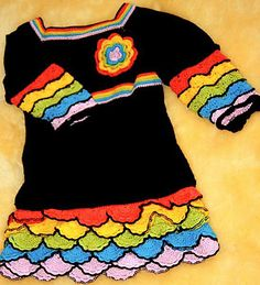 Ravelry: Black Beauty Dress for a Little Girl pattern by Svetlana M.
