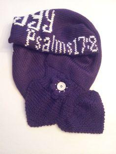 Key Hold Personalized Purple Knitted Women's by LaBufandaLLC, on sale