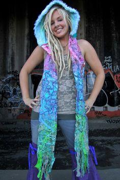 Pixie hood, Elf Hoodie, Custom made scoodie Interstellar hood, Gypsy Hood, FestivaL Clothes on Etsy, $121.35 AUD