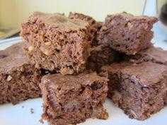 Chocolate Apple Brownies.