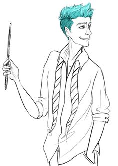 teddy lupin gif; what if his hair color changed with his mood??? That would be cool <---- Yeah, that would be cool.