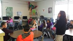 Learning about book trailers, podcasting, and digital summaries @ SMS