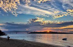Mais um dia  One more day  #sihanoukville #cambodia #sunset