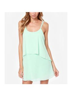 Casual Purity Sleeveless Dresses for Women - $10.37