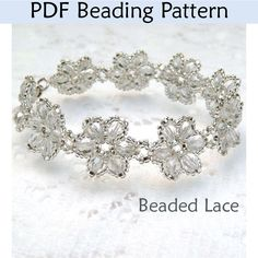 patterns for beaded bridal jewlery | Home » Bracelet Beading Patterns » Beaded Lace
