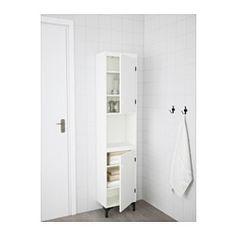 IKEA - SILVERÅN, Armalcon 2 puertas, , La balda es regulable, para que adaptes el espacio a tus necesidades.Puedes montar la puerta para que se abra desde la derecha o desde la izquierda.Ideal para un baño pequeño.