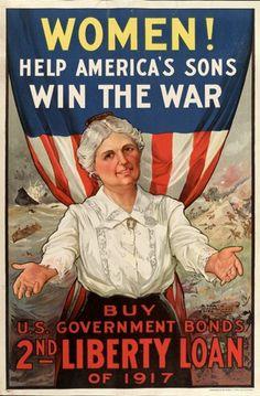 American propaganda poster, 1917