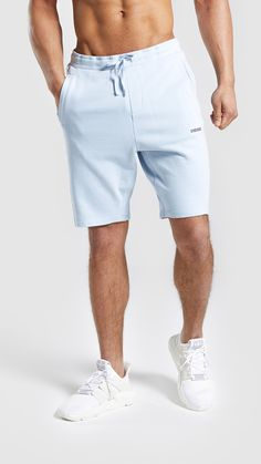 75222ffcf0 Gymshark Laundered Shorts - Light Blue
