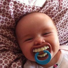 Funny pacifiers - LOL!!