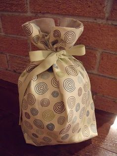 Bread bag for all my freshly baked bread =)