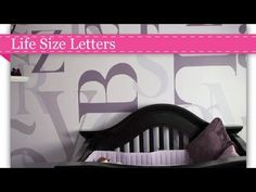 We're showcasing hand-painted alphabet accent wall on Project Nursery's YouTube Channel. #nursery #YouTube