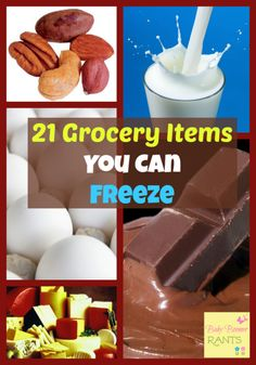When we had 4 kids at home I often wanted to buy extra when there was a good sale, but, I was always afraid it would spoil before we would use it. So, I learned a lot about what I could freeze. Check out these 21 Grocery Items You Can Freeze! Freezer Cooking, Freezer Meals, Cooking Tips, Cooking Recipes, Batch Cooking, Easy Recipes, Frugal Tips, Frugal Meals, Grocery Items