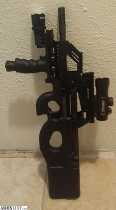 Pin By David Gerow On Fn Ps90 Custom Guns You Magazine Firearms