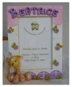 Porta foto biscuit pinterest clay polymer clay and for Idee regalo doors