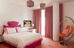 girl teenager bedroom paint, decoracion, diseños de interiores