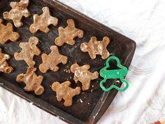 PALEO:  Coconut Flour Gingerbread Cookies