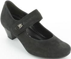 Pantofi cu toc Gabor din piele Clogs, Fashion, Clog Sandals, Moda, Fashion Styles, Fashion Illustrations