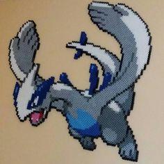 Lugia - Pokemon perler beads by Antina86