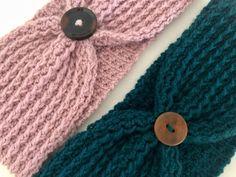 Stirnband gehäkelt / Headband crochet | Etsy Knitted Hats, Vintage, Knitting, Crochet, Handmade, Etsy, Headband Crochet, Gifts, Hand Made