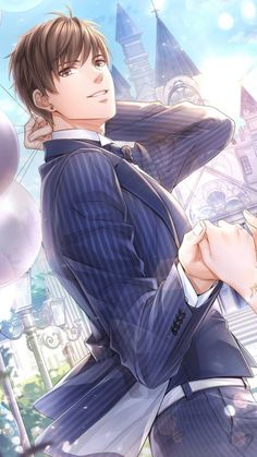love and producer Hot Anime Boy, Anime Boys, Cool Anime Guys, Handsome Anime Guys, Manga Boy, Manga Couple, Anime Love Couple, Cute Anime Couples, Couple Art