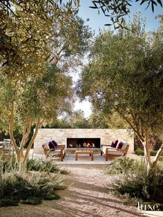 Contemporary Neutral Exterior with Native Plantings | LuxeSource | Luxe Magazine - The Luxury Home Redefined