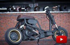 Mini Motorbike, Motorbike Parts, Mini Bike, Scooter Custom, Custom Bikes, Mini Chopper, Scooter Design, Scooter Bike, Motor Scooters