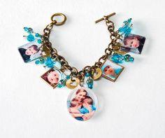 Mod Podge® Mother's Day Photo Charm Bracelet