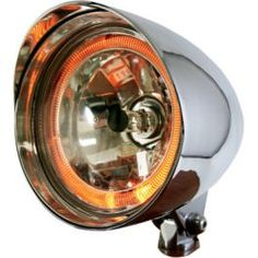 """FLAME THROWER MAX"" HEADLIGHT - LCS Motorparts"