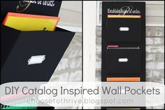 Ucreate: Catalog Inspired Wall Pockets by Choose to Thrive